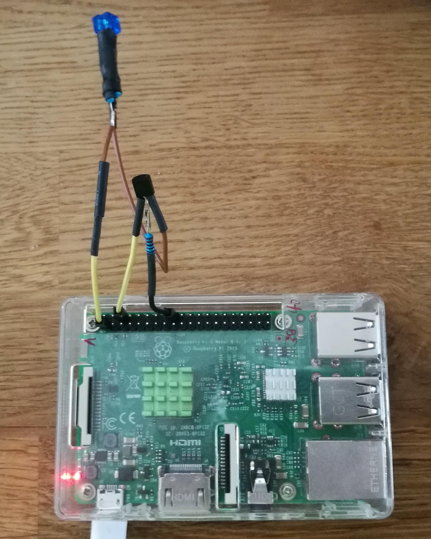 Raspberry Pi Wiringpi Mcp3008 C Infrarot Senden Und Empfangen
